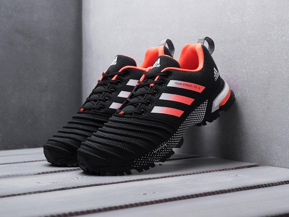 Кроссовки Adidas Marathon TR 19 цвет Черный купить по цене 2960 рублей в интернет-магазине redsneaker.ru с доставкой ☑️