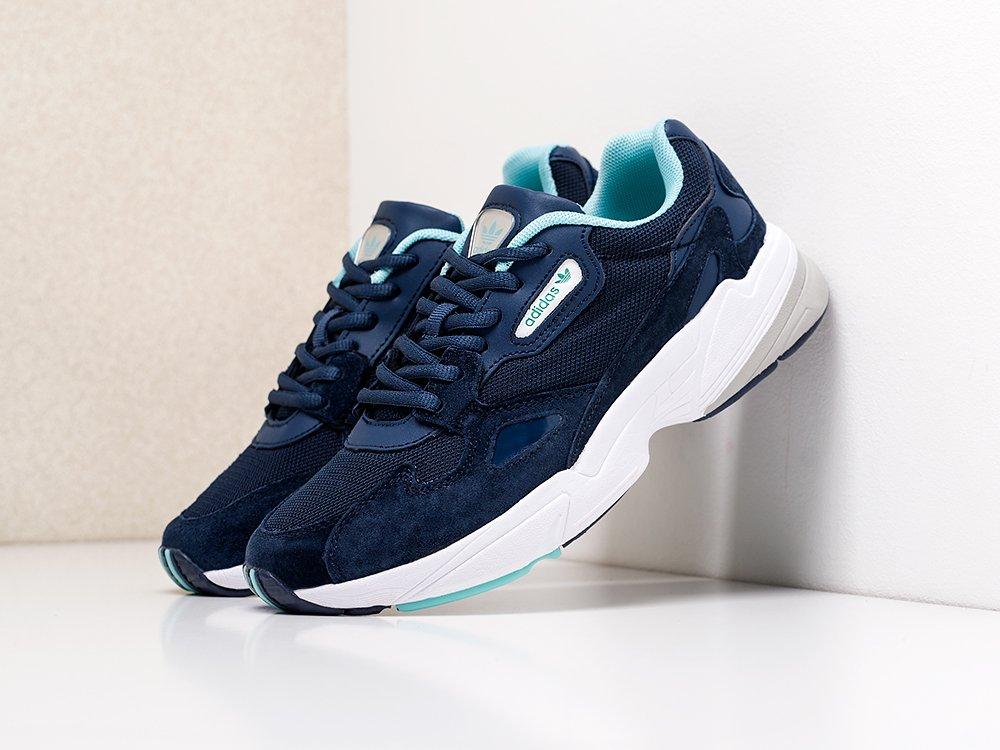 Кроссовки Adidas Falcon W цвет Синий купить по цене 3390 рублей в интернет-магазине redsneaker.ru с доставкой ☑️