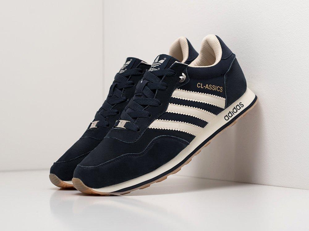 Кроссовки Adidas CL-ASSICS цвет Синий купить по цене 2990 рублей в интернет-магазине redsneaker.ru с доставкой ☑️