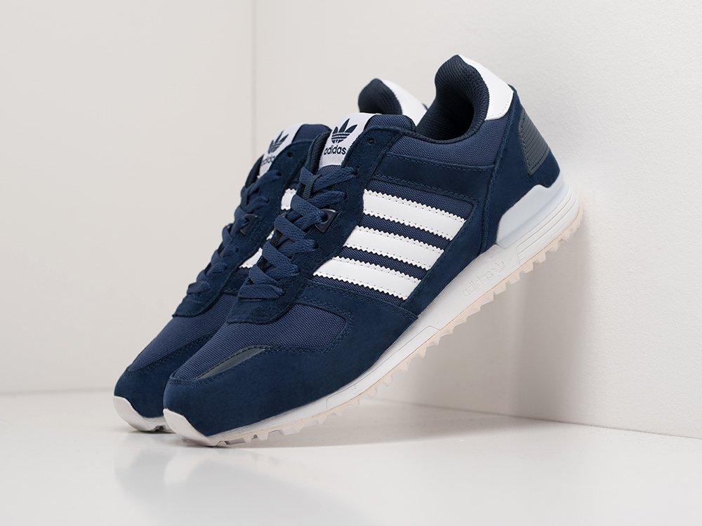 Кроссовки Adidas ZX 700 цвет Синий купить по цене 3490 рублей в интернет-магазине redsneaker.ru с доставкой ☑️